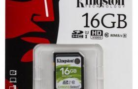 Tarjeta SD 16 GB