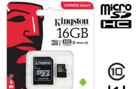 Tarjeta Micro SD 16 GB