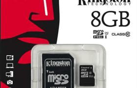 Tarjeta Micro SD 8 GB Clase 10