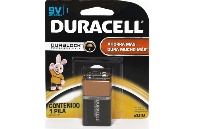 Bateria Duracell 9 V