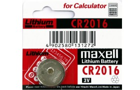 Bateria  Lithium CR 2016 3V