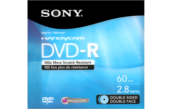 DVD – R 60 min