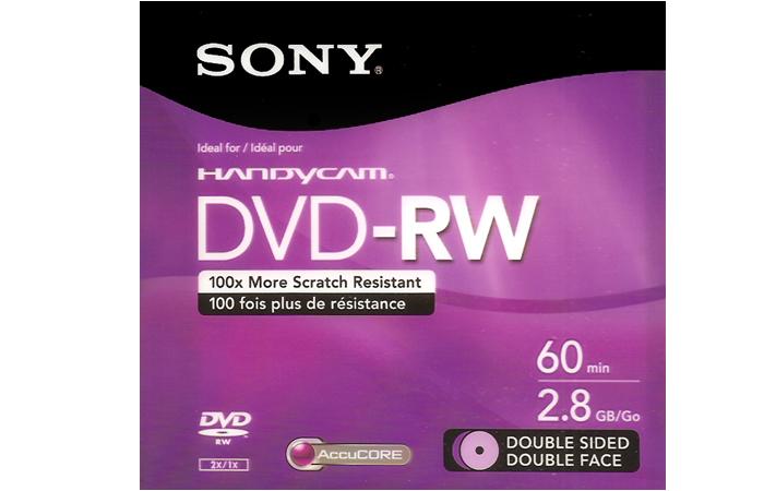 DVD – RW 60 min