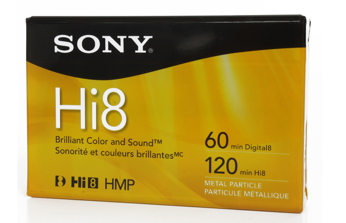Cinta de Video Hi 8