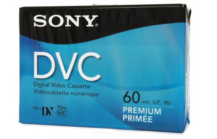 Cinta de Video Mini DV