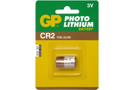 Pilas GP  CR2  Lithium  3 V