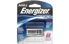 Pilas  Energizer Lithium AAA
