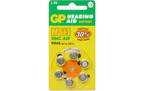 Pilas GP ZA13 Zinc Air 1.4