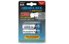 Pilas Recargables DBLUE AA