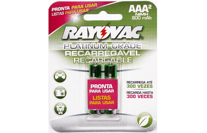 Pilas Recargables Rayovac AAA