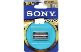 Pila Sony   CR123  Lithium  3 V